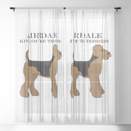 Airedale Sheer Curtain