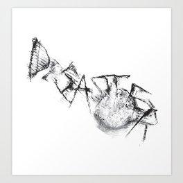 Disaster  Art Print