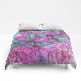 Tye-Dye Abstract Comforters