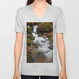 Falls In The Fall Unisex V-Neck