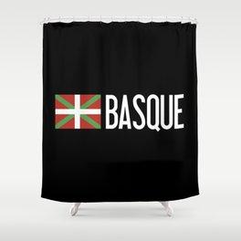 Basque Country: Basque Flag & Basque Shower Curtain