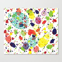 Great  Easter messy Canvas Print