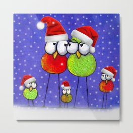 Tis' The Season Metal Print