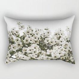 Demure Dogwood Rectangular Pillow