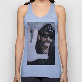 Lemmy Kilmister Unisex Tank Top