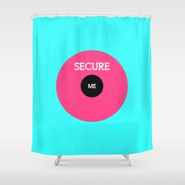 Perfectly Insecure Shower Curtain
