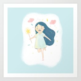 Wish on a Fairy Art Print