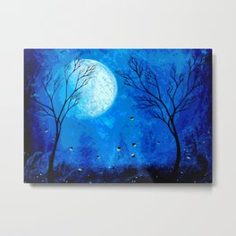 Icy Moonlight Metal Print
