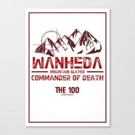 Wanheda Canvas Print
