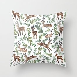 Loved Dearly Throw Pillow