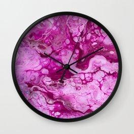 Purple #1 Wall Clock