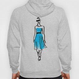 fashion sketch 1 Hoody