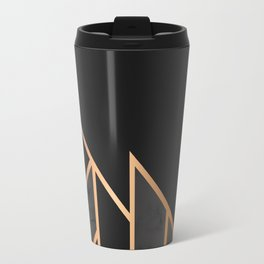 Black & Gold 035 Travel Mug