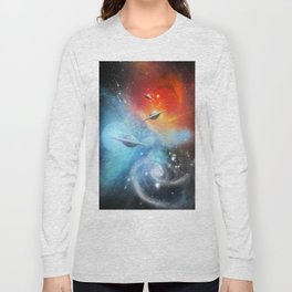 Explorers in Space Long Sleeve T-shirt