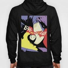 Love Vigilantes: Reversed Hoody