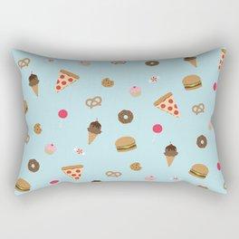 snack attack Rectangular Pillow