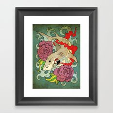 You Dont Bring Me Flowers Anymore Framed Art Print