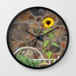 Sunflower Solo Wall Clock