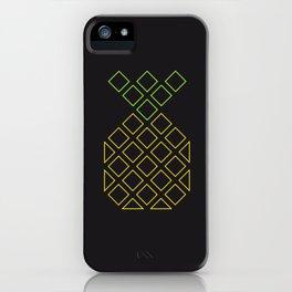 Geometric pineapple iPhone Case