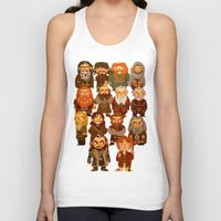 thorin Tank Tops featuring Thorin and Company by ginkohs