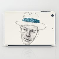 frank sinatra iPad Cases featuring Sinatra by Jason Ratliff
