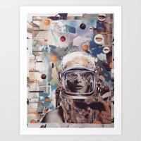 invader zim Art Prints featuring Invader by Katy Hirschfeld