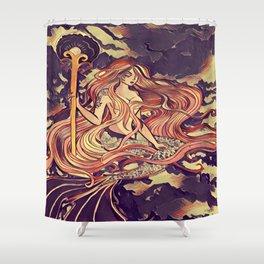 Mermaid series 2018 #1 Shower Curtain