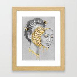 Hive Mind Framed Art Print