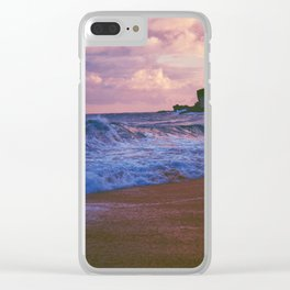 Waves Dance Clear iPhone Case