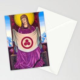 12,000pixel-500dpi - Nicholas Roerich - Madonna Oriflamma - Digital Remastered Edition Stationery Cards