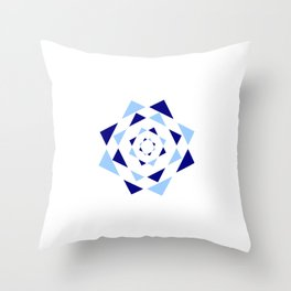 Star of David 37- Jerusalem -יְרוּשָׁלַיִם,israel,hebrew,judaism,jew,david,magen david Throw Pillow