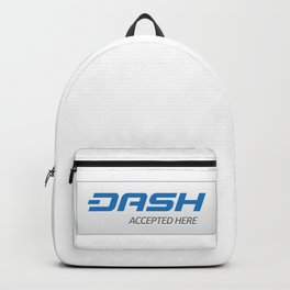 Accepted here: DASH Backpack