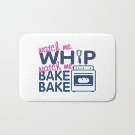 WATCH ME BAKE BAKE Bath Mat