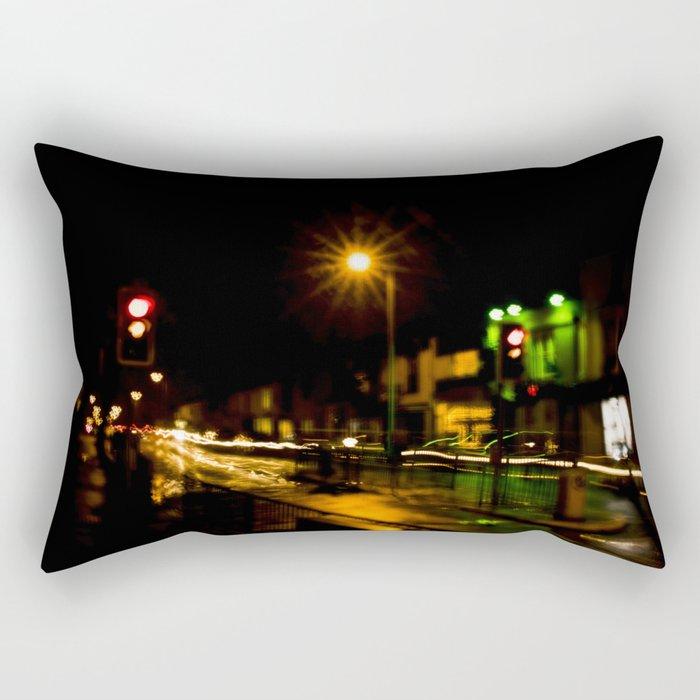 Stop light speedway Rectangular Pillow