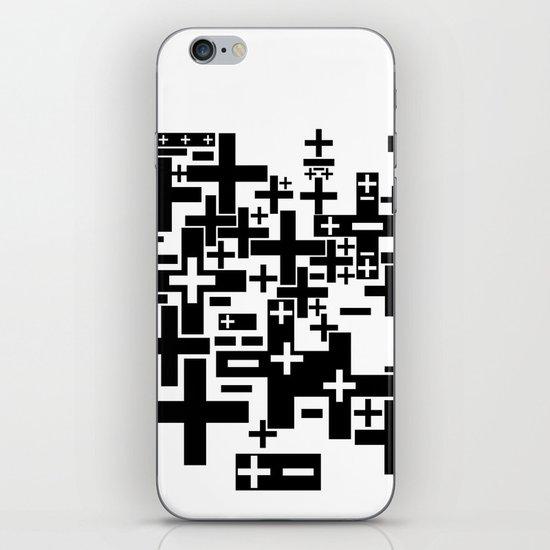 PLUS/MINUS iPhone & iPod Skin