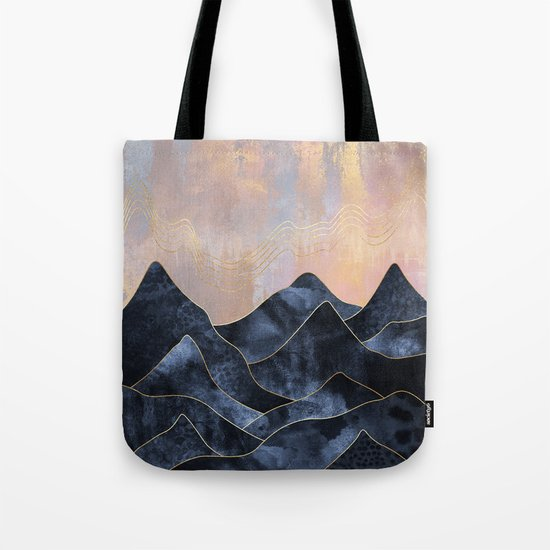 Mountainscape Tote Bag