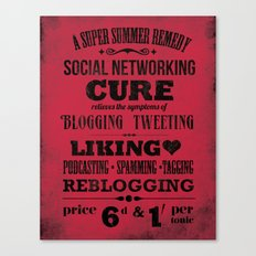 The Social Remedy Canvas Print
