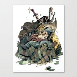 Gnome Chomsky Canvas Print