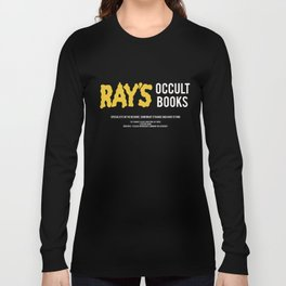 Ray's Occult Books Ghostbusters tribute Long Sleeve T-shirt