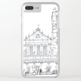 Basilica di Santa Cecilia in Trastevere Clear iPhone Case
