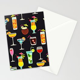 It's 5 O'Clock Somewhere Cocktails Stationery Cards