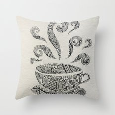 But first, Tea. Throw Pillow
