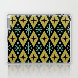 Mid Century Modern Atomic Triangle Pattern 110 Laptop & iPad Skin