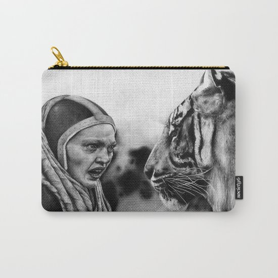 In the Eye of the Tiger Carry-All Pouch