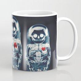 Nesting Doll X-Ray Coffee Mug