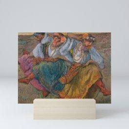 "Edgar Degas ""Russian dancers"" Mini Art Print"