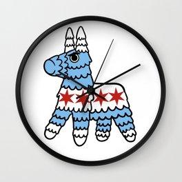 Killer Pinata Chicago Wall Clock