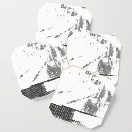 LeProcope_Glitch02 BW Coaster