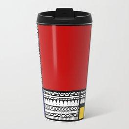 Pattern Mondriaan Travel Mug