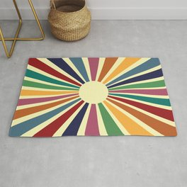 Sun Retro Art II Rug